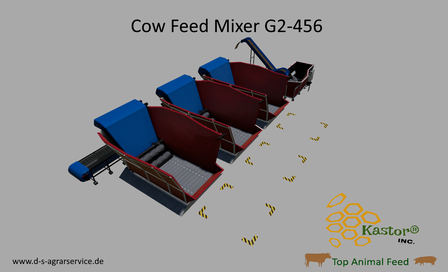 LS19# Global Company - Feed Mixer G2-456 By Kastor Inc  v1 0 0 0