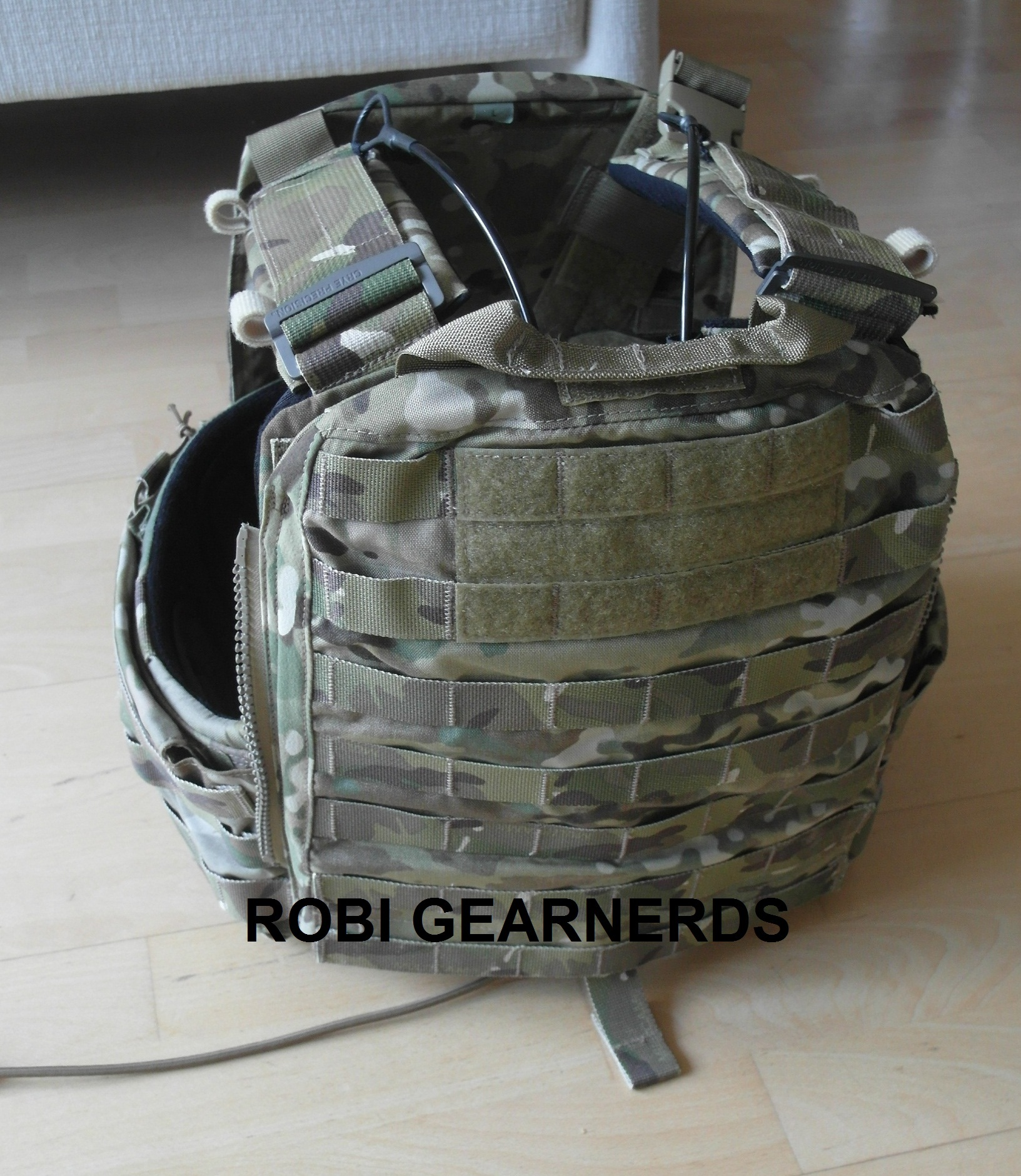 Gear Crye Precision Cage Plate Carrier Cpc In Multicam