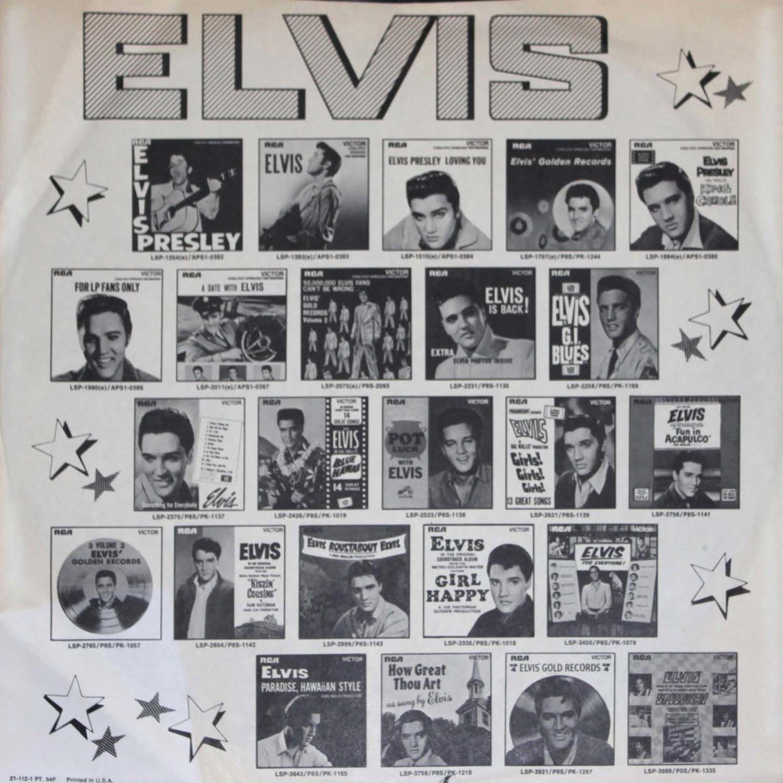 ELVIS IN CONCERT Cpl2-2587-8295xjhw