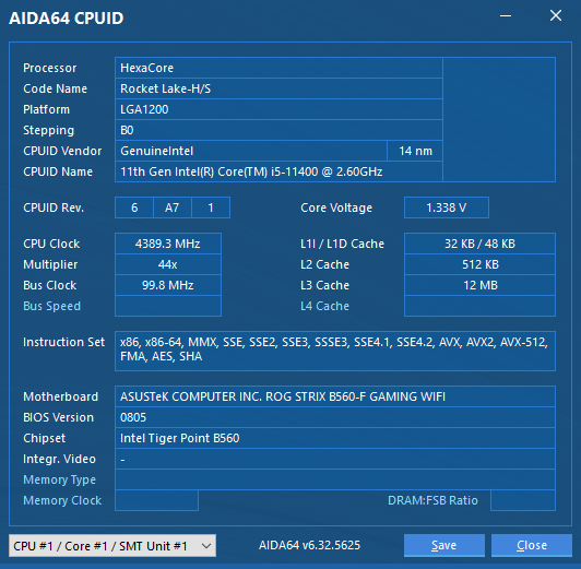 cpuid114000qjvm - CPU Update