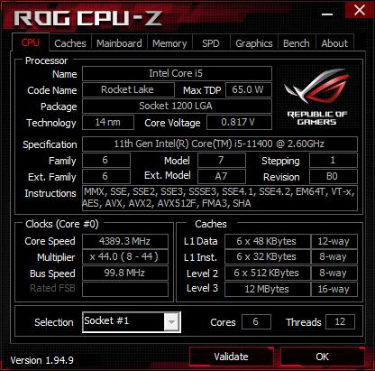 cpuzkrk33 - CPU Update