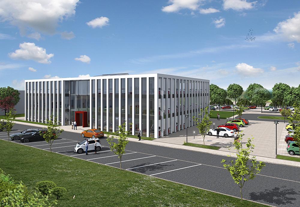 Bauprojekte bochum neubau firmenzentrale gbtec ag fertig - Architekturburo bochum ...