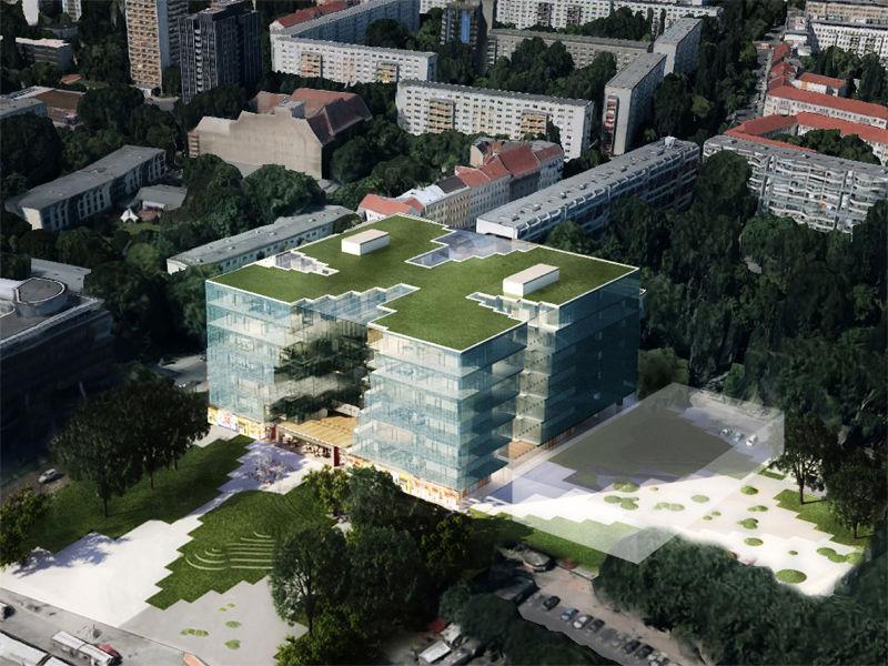 kaufhof ostbahnhof up berliner architektur urbanistik. Black Bedroom Furniture Sets. Home Design Ideas