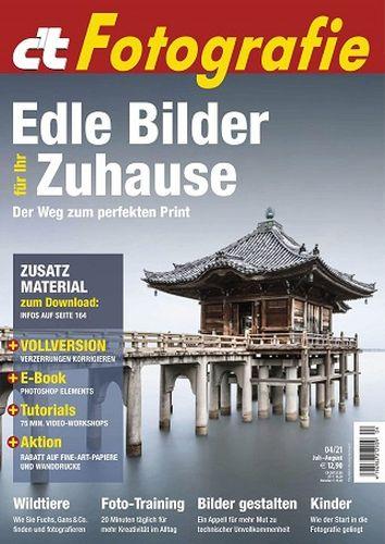Cover: ct Digitale Fotografie Magazin Juli-August No 04 2021