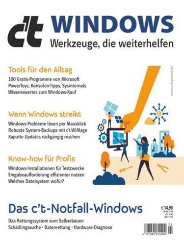 Cover: ct Magazin für Computertechnik Sonderhefte (Windows) No 03 2021