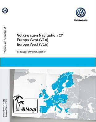 Volkswagen RNS 510 CY Europa West V16 - GPS Underground :: Your