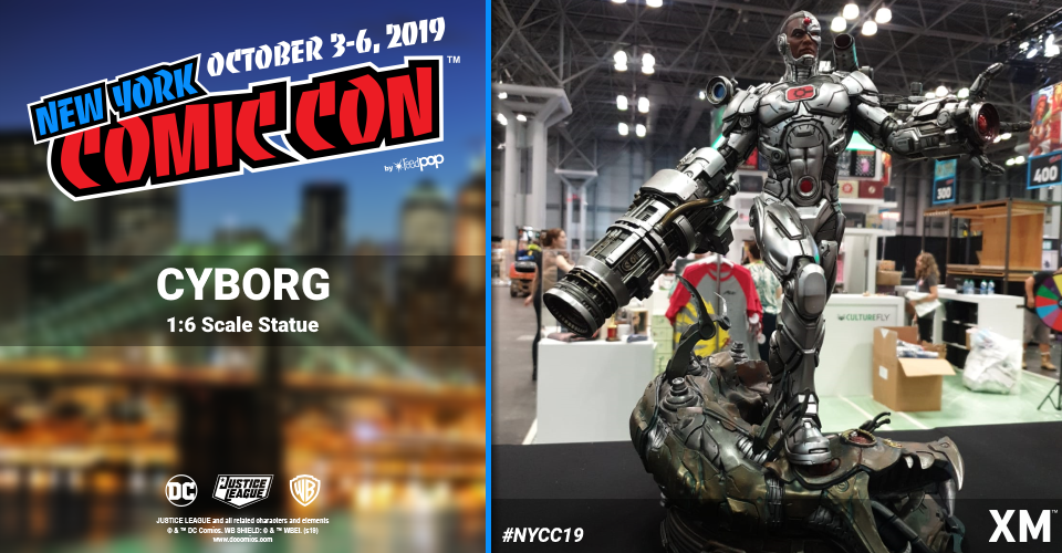 XM Studios: Coverage New York Comic Con 2019 - October 3rd to 6th  Cyborgxnjxo