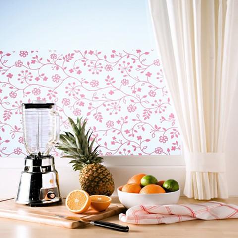 D c fix fensterfolie glasdekofolie sichtschutzfolie - Fensterfolie statisch anbringen ...