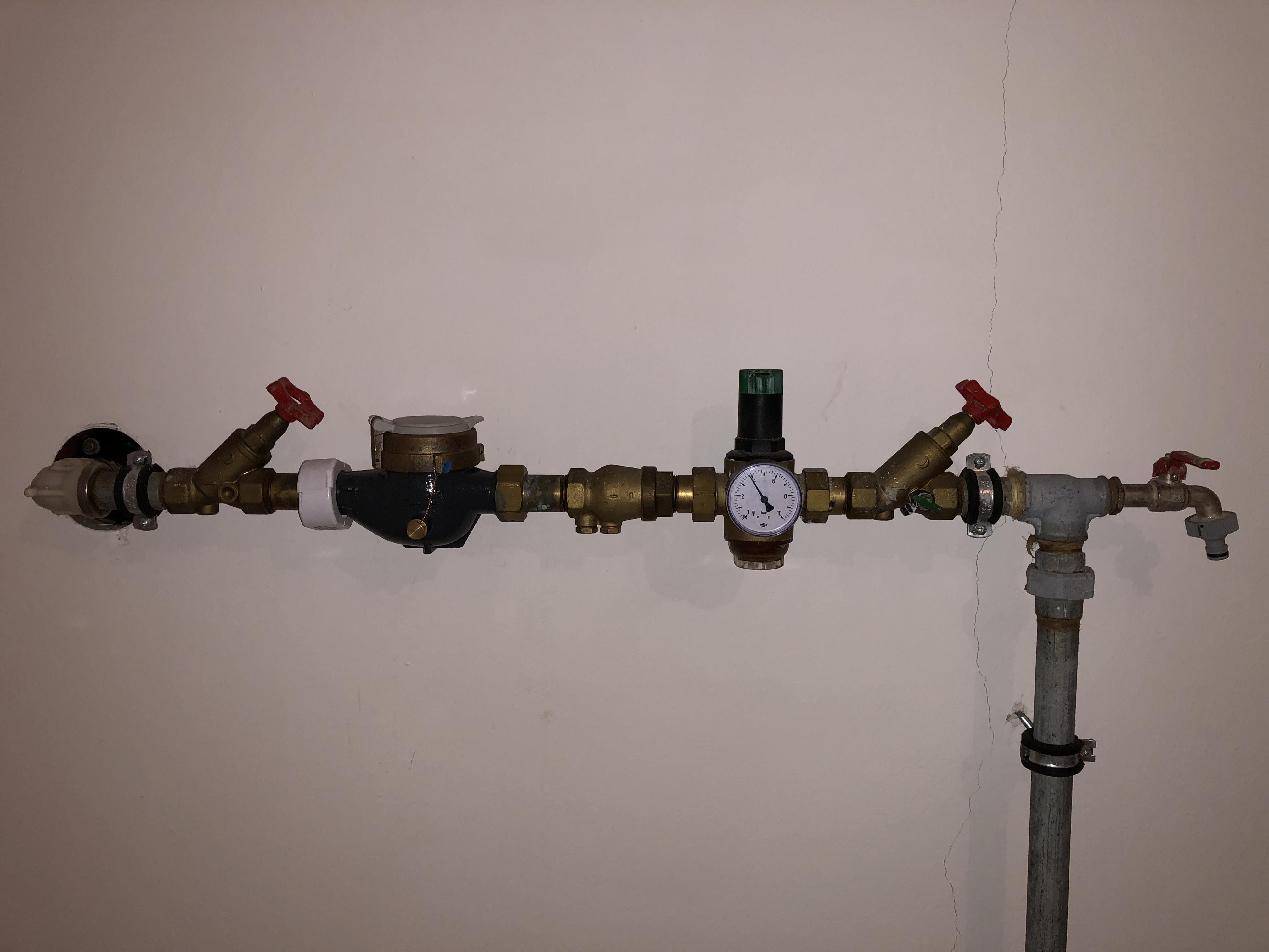 Bekannt Warmwasser zu wenig Druck, Rückschlagventil defekt AD96