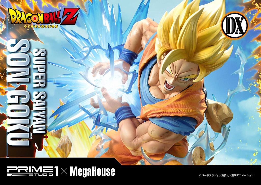 Prime 1 Studio Dragon Ball Z Super Sayan Son Goku 1 4 Statue