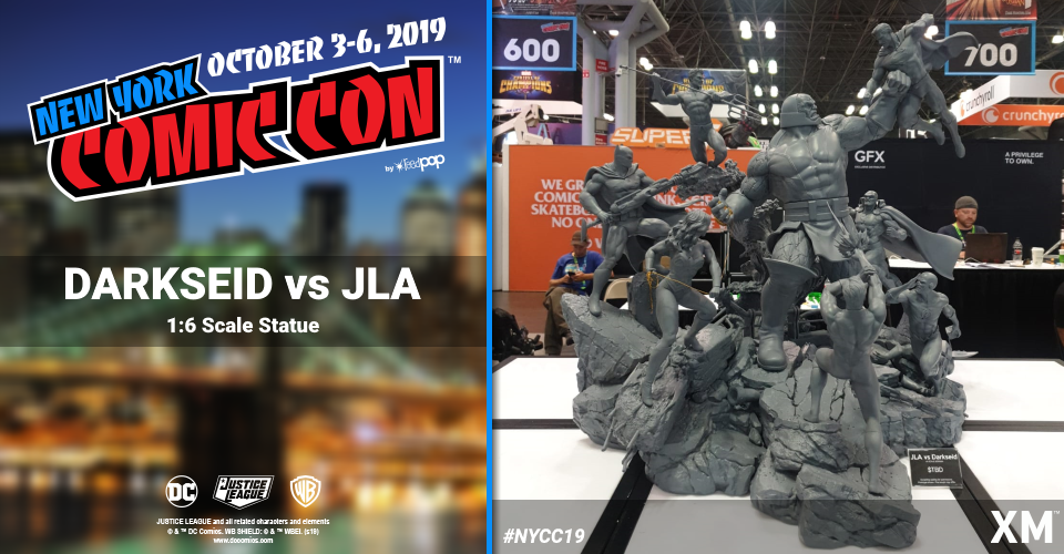 XM Studios: Coverage New York Comic Con 2019 - October 3rd to 6th  Darksidedioramax1jgl