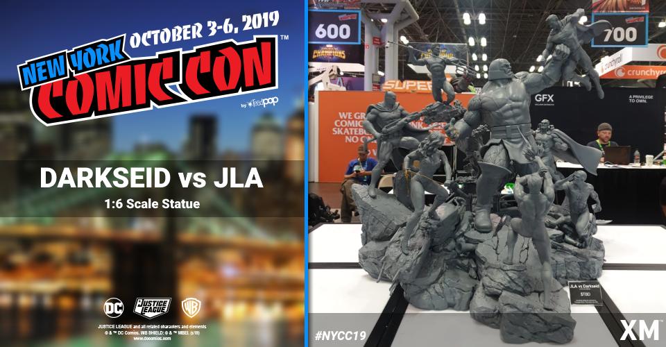 XM Studios: Coverage New York Comic Con 2019 - October 3rd to 6th  Darksidedioramax1jgl