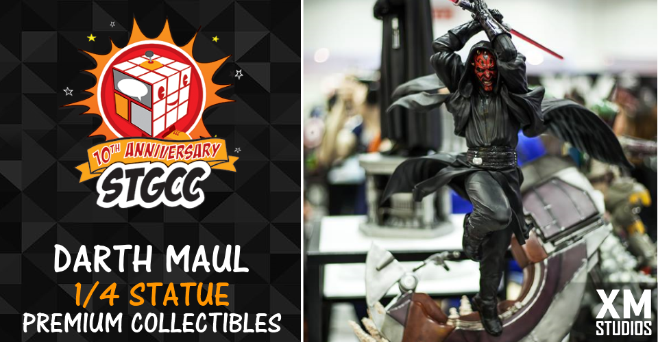 XM Studios: Coverage STGCC 2017 - September 09-10 - Page 2 Darthmaul56a8f
