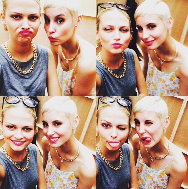 Gntm 2015 Sind Darya Und Lisa Auf Einmal Beste Freundinnen Foto