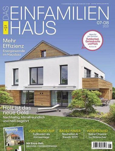 Cover: Das Einfamilienhaus Magazin Nr 07-08 2021
