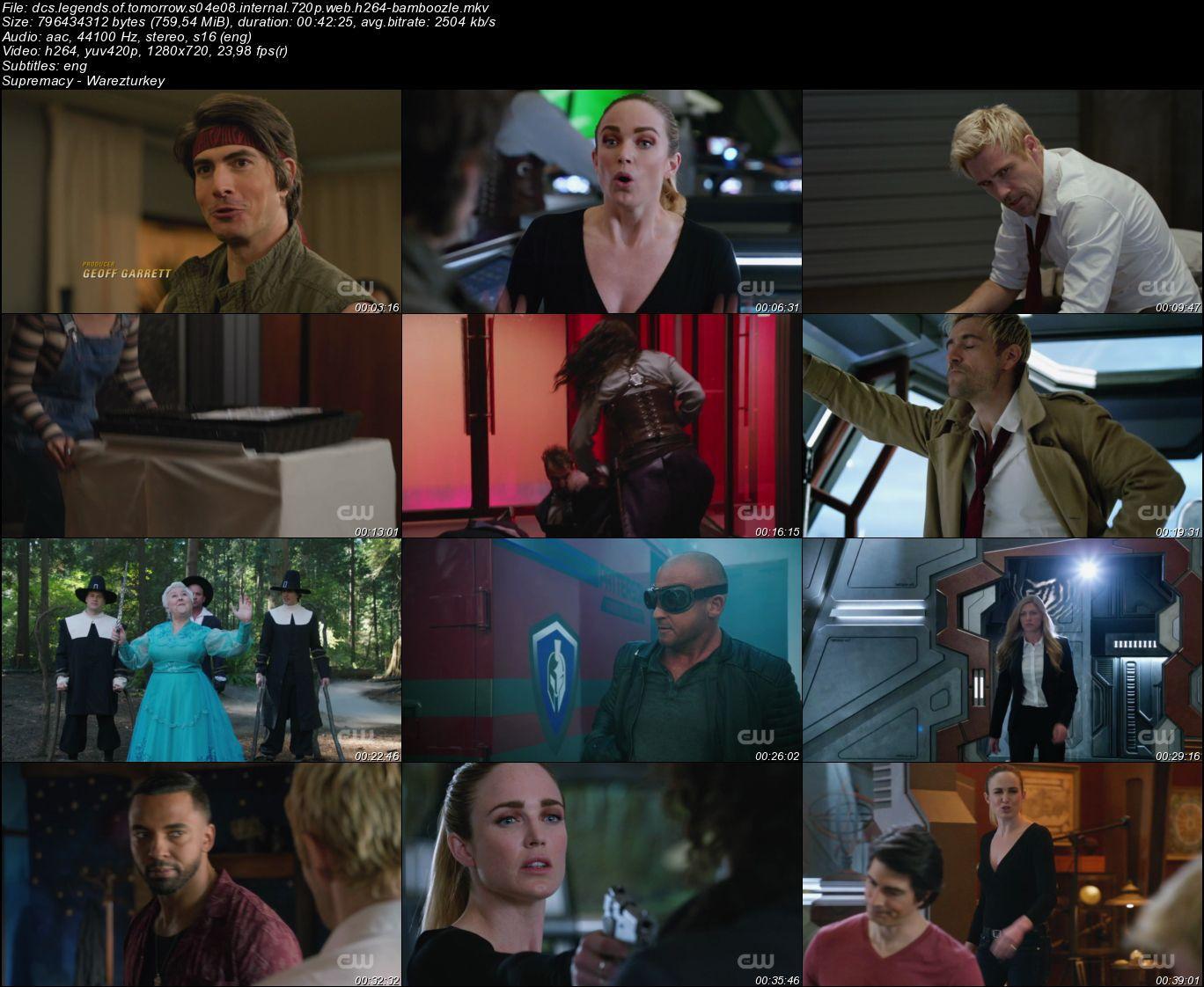 Legends of Tomorrow - Sezon 4 - 720p HDTV - Türkçe Altyazılı