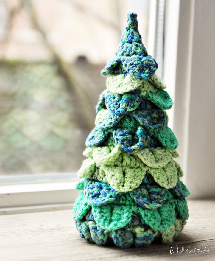 Weihnachtsbaum häkeln