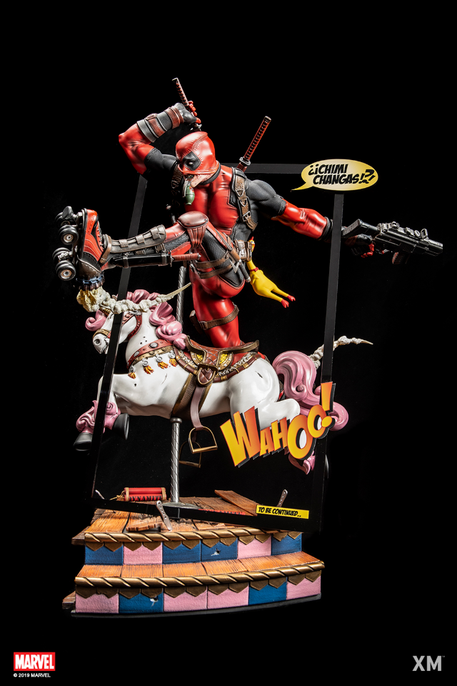 Premium Collectibles : DeadPool ** Deadpoolbponyhj85
