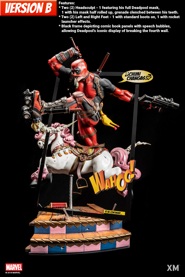 Premium Collectibles : DeadPool ** Deadpoolbpoverbm0k4i