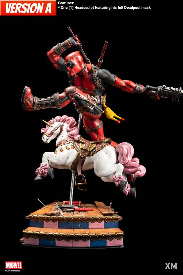 Premium Collectibles : DeadPool ** Deadpoolpoveraipjup