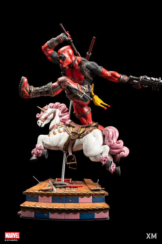 Premium Collectibles : DeadPool ** Deadpoolpoveranchjhi
