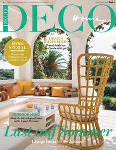 Cover: Deco Home Magazin No 03 Juli-August  2021