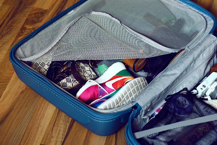 koffer packen und weg