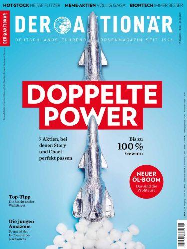 Cover: Der Aktionär Börsenmagazin No 25 vom 18  Juni 2021