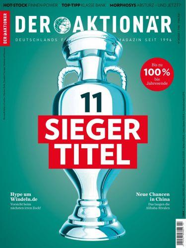Cover: Der Aktionär Börsenmagazin No 24 vom 11  Juni 2021