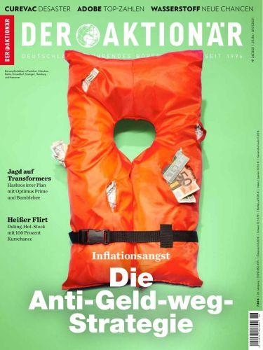 Cover: Der Aktionär Börsenmagazin No 26 vom 25  Juni 2021