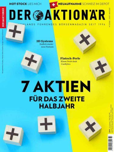 Cover: Der Aktionär Magazin No 27 vom 02  Juli 2021
