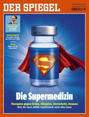 Cover: Der Spiegel Nachrichtenmagazin No 25 vom 19  Juni 2021