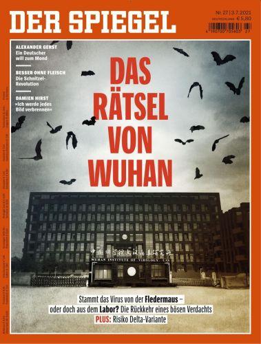Cover: Der Spiegel Nachrichtenmagazin No 27 vom 03  Juli 2021
