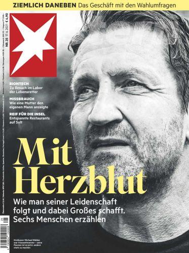 Cover: Der Stern Nachrichtenmagazin No 25 vom 17  Juni 2021