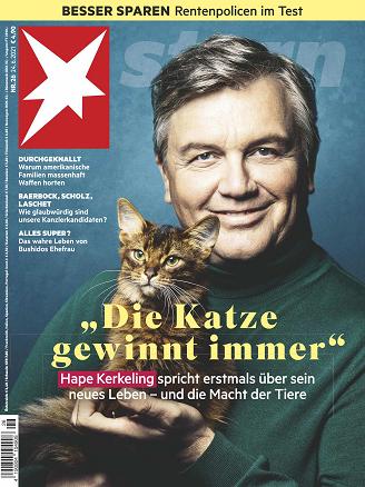 Cover: Der Stern Nachrichtenmagazin No 26 vom 24  Juni 2021