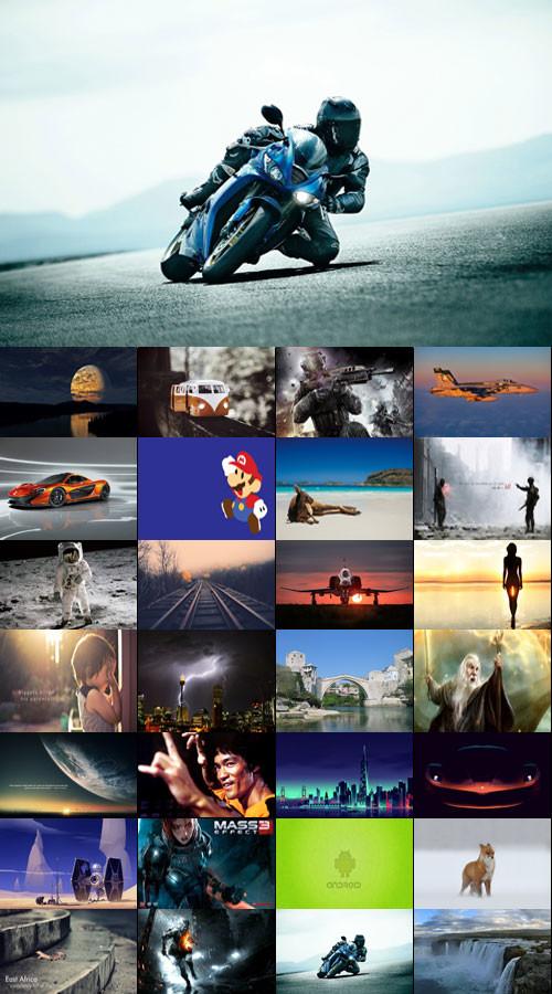 Desktop Wallpapers-Miscellaneous 80-Super Pack