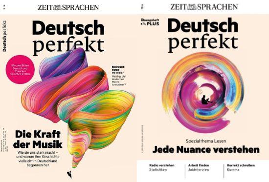 Cover: Deutsch Perfekt + Plus Magazin Einfach Deutsch lernen No 08 2021