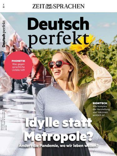 Cover: Deutsch Perfekt Magazin No 07 Juli 2021