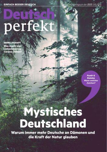 Cover: Deutsch Perfekt Magazin (Einfach Deutsch lernen) No 08 2020