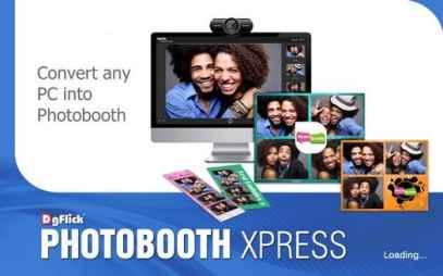 DgFlick Photo Booth Xpress PRO Full İndir v1.0.0.0