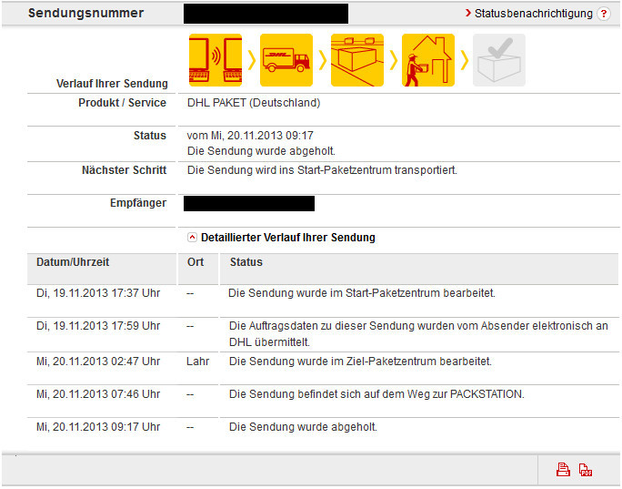dhl packstation tracking amazon post paket. Black Bedroom Furniture Sets. Home Design Ideas