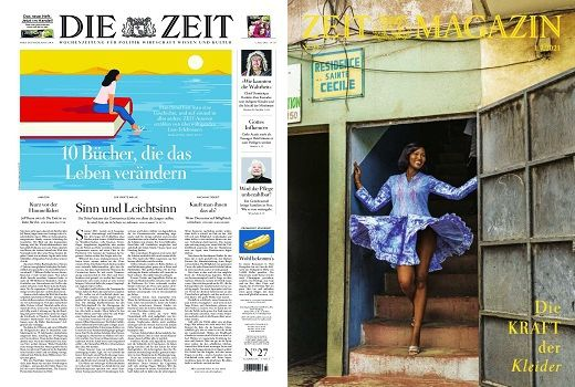 Cover: Die Zeit mit die Zeit Magazin No 27 vom 01  Juli 2021