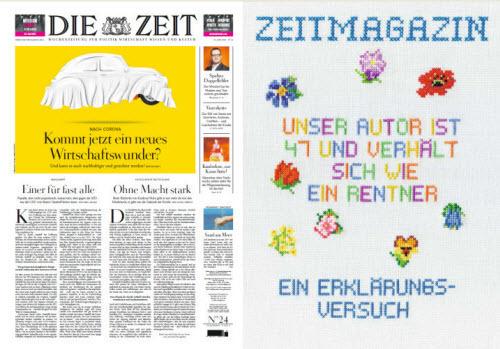 Cover: Die Zeit mit die Zeit Magazin No 24 vom 10  Juni 2021