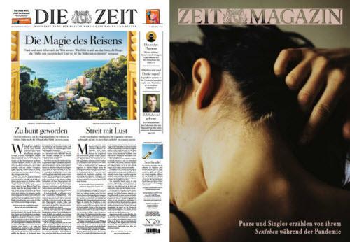 Cover: Die Zeit mit Zeit Magazin No 26 vom 24  Juni 2021