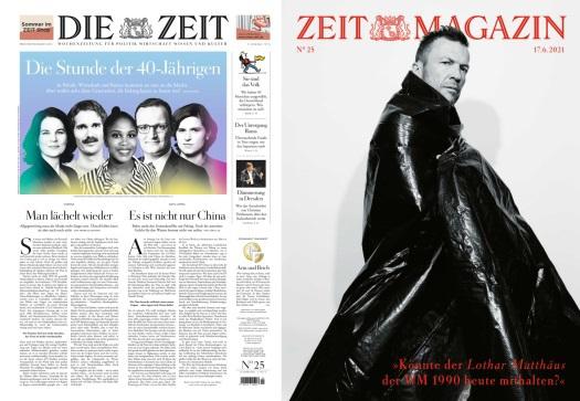 Cover: Die Zeit mit Zeit Magazin No 25 vom 17  Juni 2021