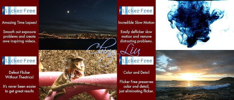flicker free serial