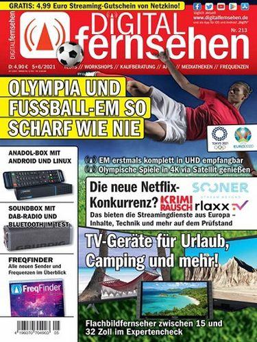 Cover: Digital Fernsehen Magazin No 05-06 Mai-Juni 2021