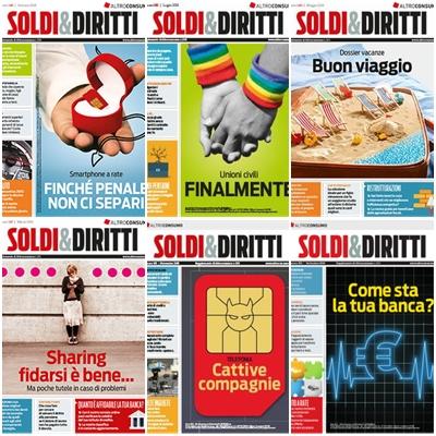 Altroconsumo Soldi & Diritti - Collezione Completa Anno 2016