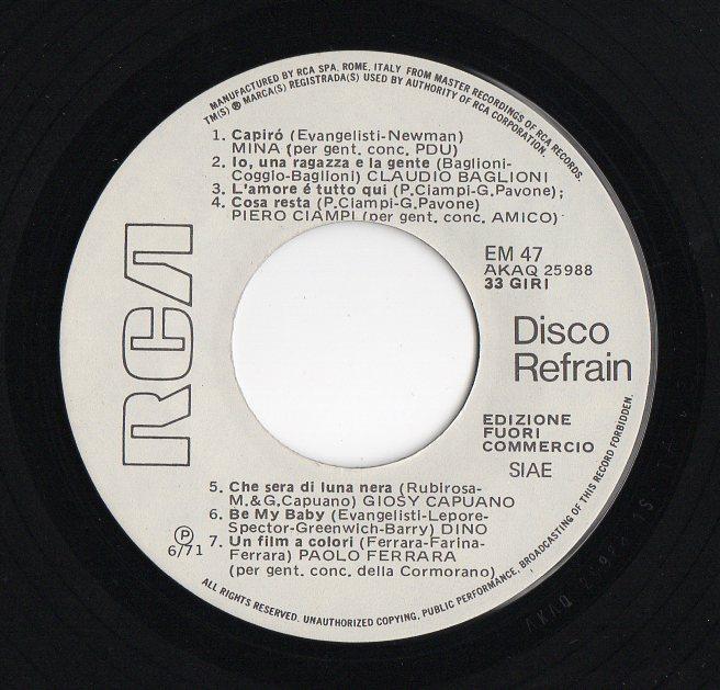 DISCO REFRAIN N.47 Discorefrain479dkif