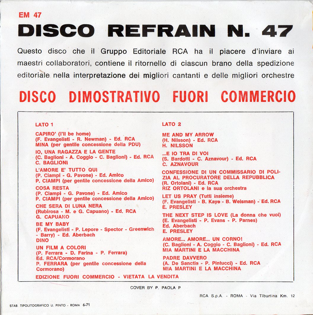 DISCO REFRAIN N.47 Discorefrain47_0003gik31